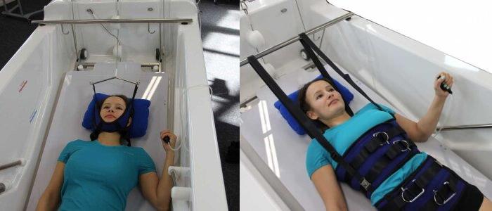 Оборудование для вытяжения позвоночника